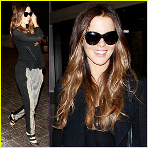 Kate Beckinsale: Back in the States After China Trip!