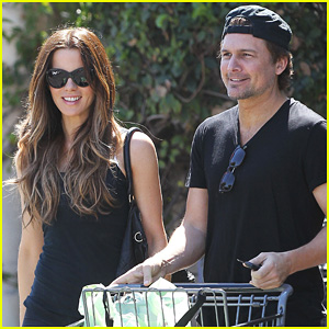 Kate Beckinsale & Len Wiseman Get Groceries at Gelson's