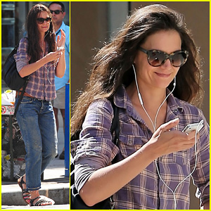 Katie Holmes: Chelsea Jam Session!