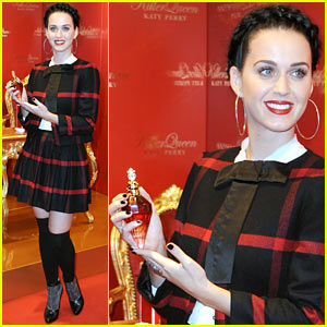 Katy Perry: Killer Queen Fragrance Launch in Berlin!
