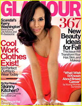 Kerry Washington Covers 'Glamour' October 2013