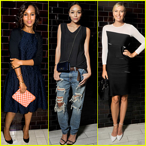 Kerry Washington & Maria Sharapova: Jason Wu After Party