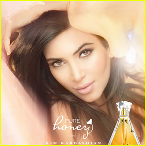 Kim Kardashian: Pure Honey Fragrance Ad Campaign Pic!