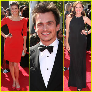 Lake Bell & Rupert Friend - Creative Arts Emmys 2013