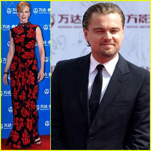 Leonardo DiCaprio & Nicole Kidman: Oriental Movie Metropolis Ceremony