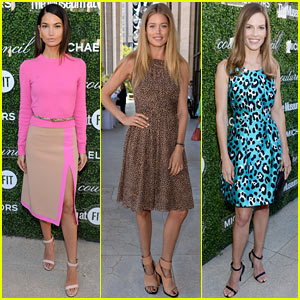 Lily Aldridge & Doutzen Kroes: Couture Council Lunch Honoring Michael Kors