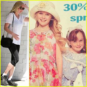Lindsay Lohan Posts Kirsten Dunst Throwback Modeling Pic!