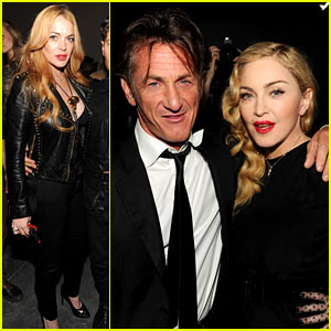 Madonna & Lindsay Lohan: SecretProjectRevolution Launch!