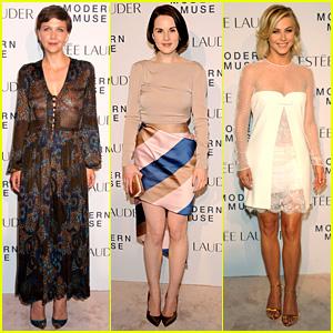 Maggie Gyllenhaal & Michelle Dockery: Estee Lauder Launch!