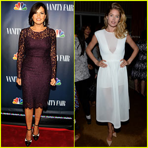 Mariska Hargitay & Doutzen Kroes: NBC's Fall Launch Party!