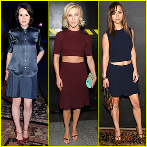 Michelle Dockery & Julianne Hough: Marc Jacobs Fashion Show!