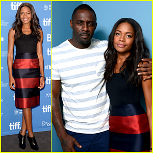 Naomie Harris & Idris Elba: 'Mandela' TIFF Press Conference!
