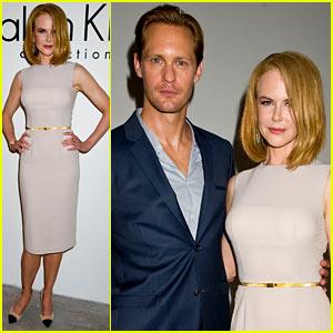 Nicole Kidman & Alexander Skarsgard: Calvin Klein Fashion Show!
