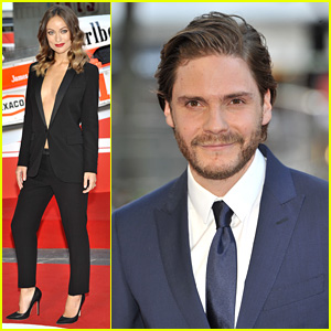 Olivia Wilde & Daniel Bruhl: 'Rush' London Premiere!