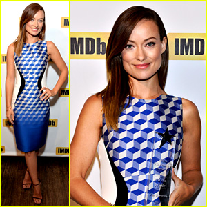 Olivia Wilde Receives IMDb Award at Toronto Film Festival!