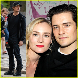Orlando Bloom & Diane Kruger: 'Troy' Reunion on Broadway!