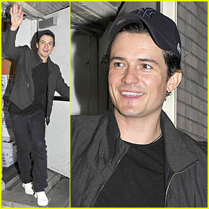 Orlando Bloom: NYC Gives Generously & Keeps You in Line!