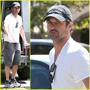 Patrick Dempsey: Labor Day Shopping After Grand Prix Race!