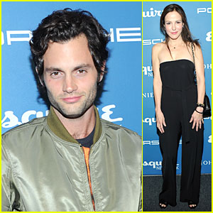 Penn Badgley: Esquire Network Launch Celebration!