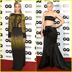Rita Ora & Jessie J - GQ Men of the Year Awards 2013