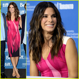 Sandra Bullock: 'Gravity' TIFF Press Conference!