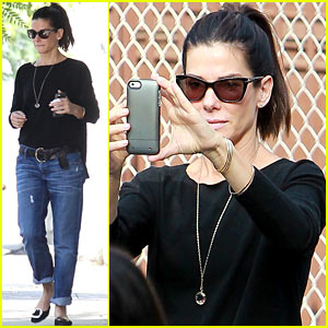 Sandra Bullock: Louis is Very Protective of Me Around Men!