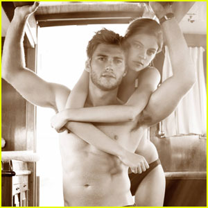 Scott Eastwood: Shirtless for 'Town&Country' October 2013