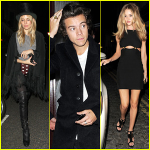 Sienna Miller & Harry Styles: AnOther Magazine's LFW Party!