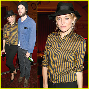 Sienna Miller & Tom Sturridge: 'About Time' London Screening!
