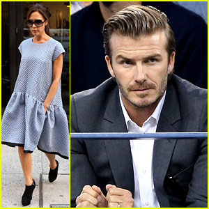Victoria Beckham is Fashion Fierce, David Watches U.S. Open!
