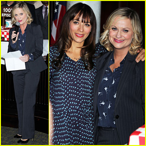 Amy Poehler: 'Parks & Recreation' 100th Episode Celebration!