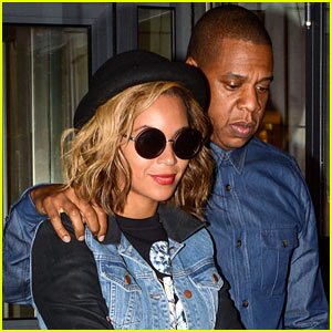 Beyonce & Jay Z: Dinner Date in Paris!