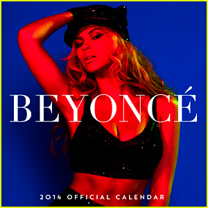 Beyonce Reveals 2014 Calendar Cover & Sexy Centerfold Pic!