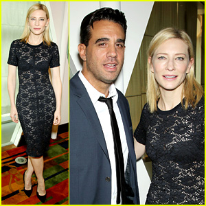 Cate Blanchett: 'Blue Jasmine' Luncheon with Bobby Cannavale!
