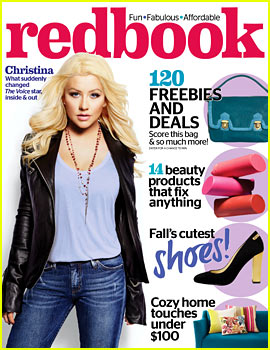 Christina Aguilera Covers 'Redbook' November 2013