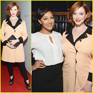 Christina Hendricks: Tacori Club Event 2013 with Tamera Mowry!