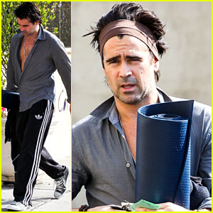 Colin Farrell: Napa Valley Film Festival Spotlight Award Honoree!