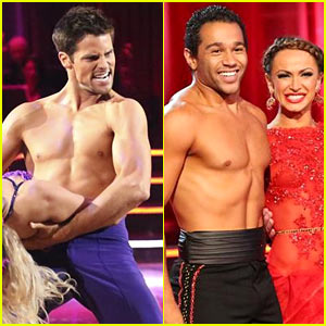 Corbin Bleu & Brant Daugherty: Shirtless for 'DWTS'!