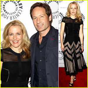 David Duchovny & Gillian Anderson: 'X Files' 20th Anniversary!