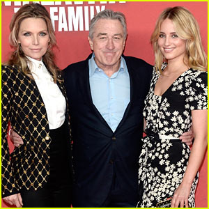 Dianna Agron & Michelle Pfeiffer: 'Family' Germany Premiere!