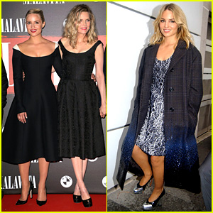 Dianna Agron Promotes 'The Family' in Paris