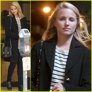 Dianna Agron Steps Out Before Glee's Cory Monteith Farewell Ep