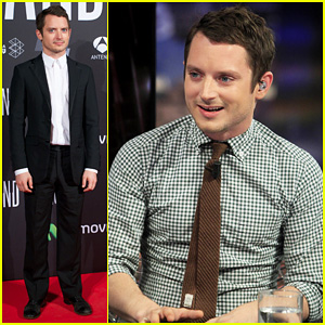 Elijah Wood: 'Grand Piano' Promo in Madrid!