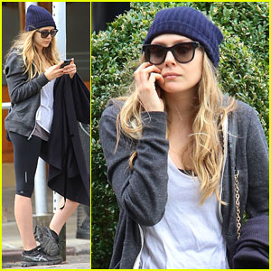 Elizabeth Olsen: Low-Key NYC Lunch