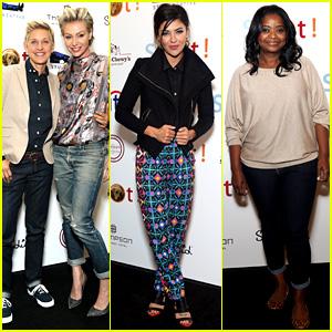 Ellen DeGeneres & Portia de Rossi: Saving Spot Benefit!
