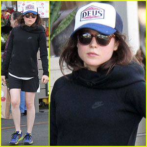 Ellen Page Hits Up Whole Foods After Paris Trip