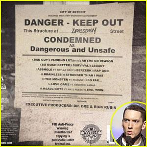 Eminem: 'Marshall Mathers LP 2' Tracklisting Released!