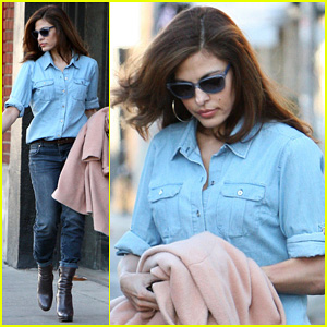 Eva Mendes: 'It's About Fashion on the Run!'