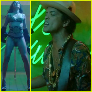 Freida Pinto Strips for Bruno Mars in 'Gorilla' Video - WATCH!