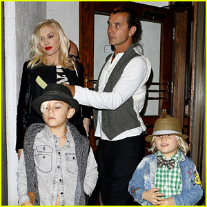 Gavin Rossdale Celebrates Birthday with Gwen Stefani & Kids!